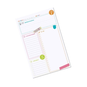 Sticky to-do block | Leerkracht organizer
